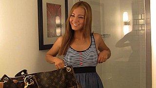 Spoiled 19 yo latina.., Bella. College girl