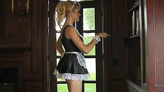 Too sexy maid Angelina Armani