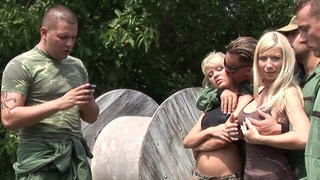Paintballing for titties Part 1