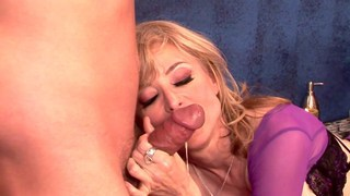 Hot mature gets boned