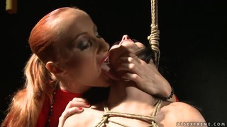 Amazing Deborah Black is being violated