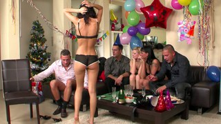 New Year's Eve sex party episode 2