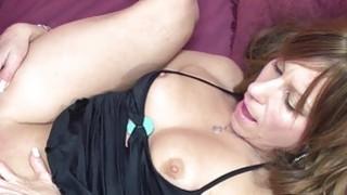 Petite MILF Brandi Minx gets her mature twat stuff