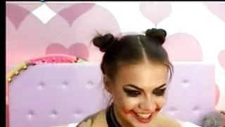 Crazy Webcam Girl Great Show 5