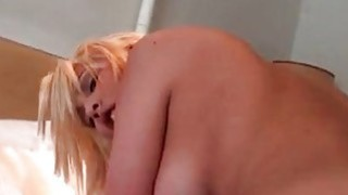 Blonde POV latina taking cock deep in her wet pussy