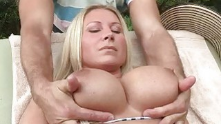 Busty stepmom Devon Lee horny threesome