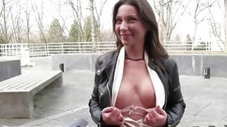 Czech slut picked up on the street and fucked