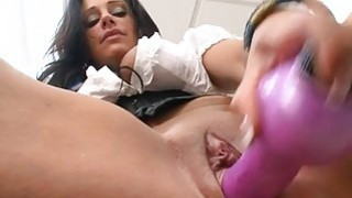 Elegant angel likes getting her bald twat devoured