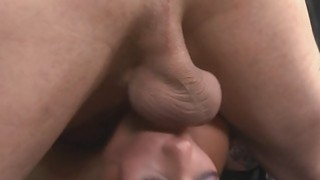 Crazy hardcore mouth fuck of babe