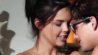 Hot Dillion Harper and her lover engage into a hot sexy fuck