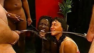 Darling gives wet blow job with excellent fuck
