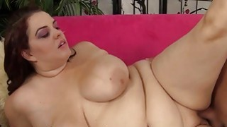 Pretty plumper Buxom Bella gets fucked hard