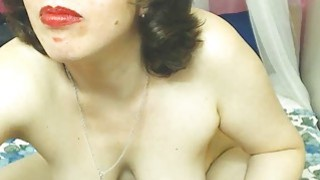 Hairy Mature Woman Doing Live Show