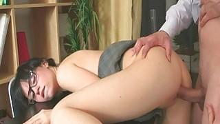 Mature teacher fucks naughty playgirl senseless