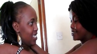 This is crazy! Real African amateur lesbians in the shower?