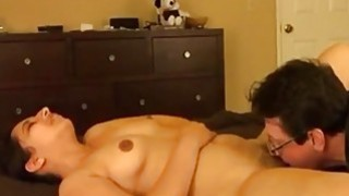 Indian wife getting spoiled by her hubby