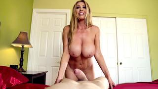 Kianna Dior wraps her massive tits around Jordi's hard dick