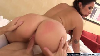 Stepdaughter Karlee wants to play with mommy's toy