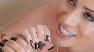 Ariella take Kyle's cock deep in her pussy