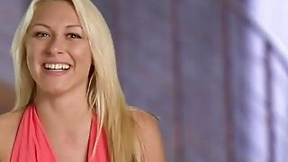 Horny swingers playing dirty games in reality show