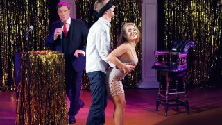 Alessandra Jane and Danny D take a part in a game show