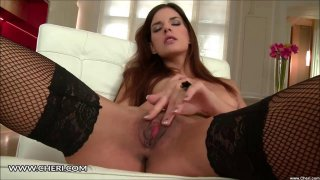 Candice Luca Plays With Her Pussy Clit