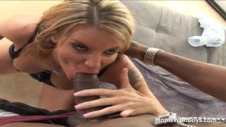 MILF Kayla Quinn Fucking Young Black Cock