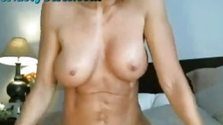 Hottest Milf Ever Dildos Pussy On Webcam