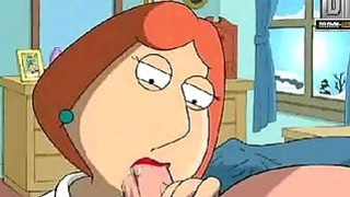 Family Guy Hentai Naughty Lois wants anal