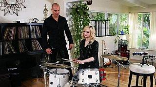 Punk Rock Chick Julie Night Hot Video
