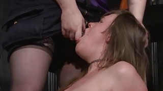 Taylor Hearts bizarre lesbian humiliation and boot