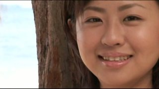 Barely legal Japanese chick Hitomi Kitamura has an angelic face