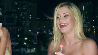Amateur broads at orgy sex party