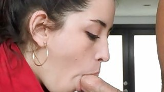 2 babes are having fun appreciating dudes pecker